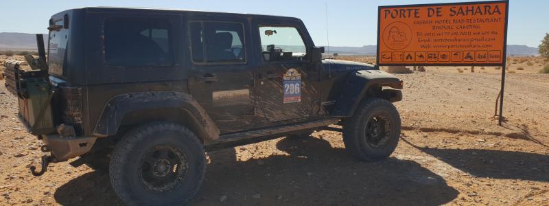 Jeep Wrangler Rubicon @ Porte de Sahara