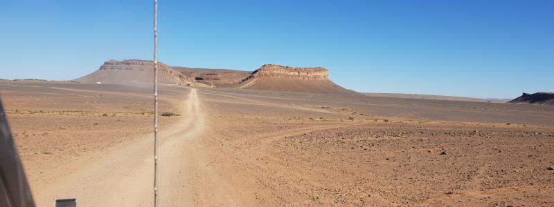 Maroc Challenge dirt track