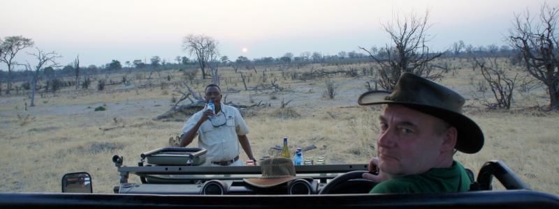 Safari Jeep in Botswana